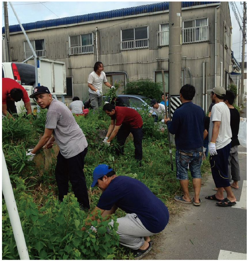 地域ボランティア画像